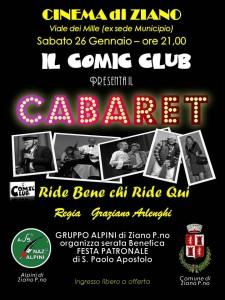 Cabaret 26/01/2013