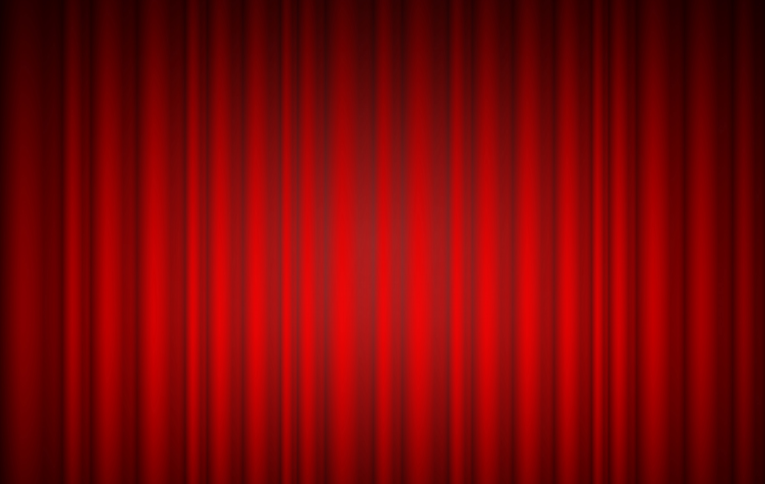 High resolution red curtain background made in photoshop theater