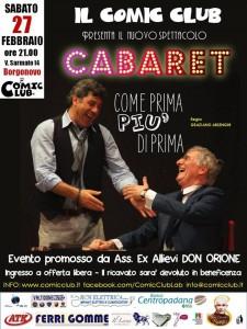 Cabaret 27/02/2016