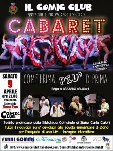 Cabaret 9/04/2016