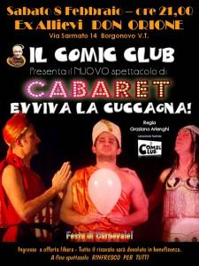 Volantino Cabaret febbraio 2014