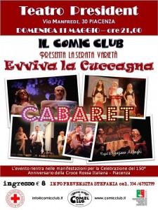 Cabaret 11 maggio 2014